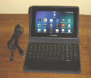 """Blackberry Playbook 7"""" 32GB with Keyboard"""
