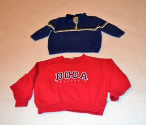 Size 18 month sweatshirt and sweater