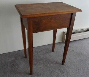 Antique hardwood letter desk