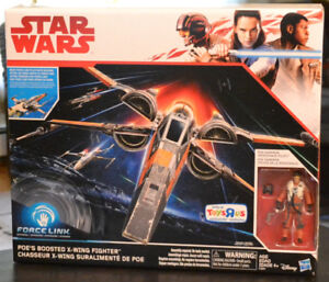 "Star Wars 3.75"" Vehicle Last Jedi Poe's Boosted X-Wing Fighter"