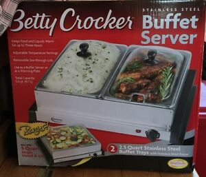 Betty Crocker Buffet Server and Warmer