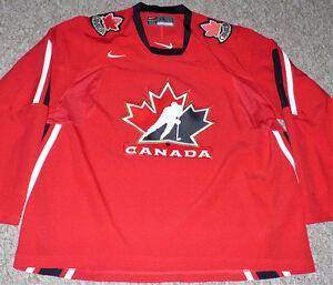 Team Canada 2006 Olympic Nike Red Home Jersey Size XXL
