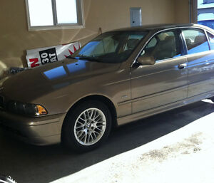 2002 BMW 5-Series 4 door Sedan