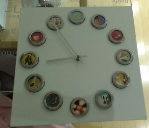 Horloge personalisable et design clock