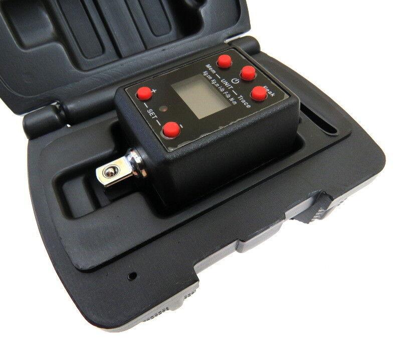 Prifi Digitaler Drehmoment Aufsatz Drehmomentschlüssel Adapter 1/2