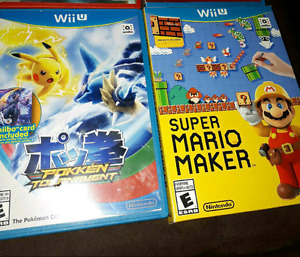 2 for price of 1.. Nintendo Wii U games