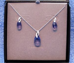 Amethyst earring & pendant set West Island Greater Montréal image 1