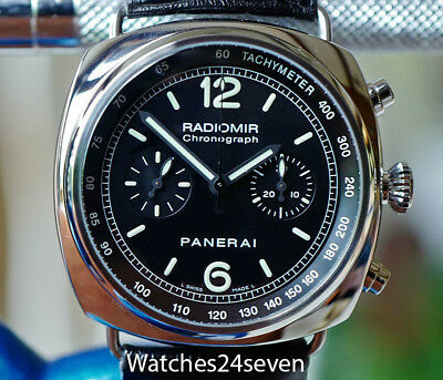 Panerai PAM 288 Radiomir Chronograph Steel 45mm, Retail $8,300