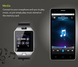 Bluetooth Android Smart Watch/Facebook/Whatsapp/Simcard/Camera London Ontario image 9