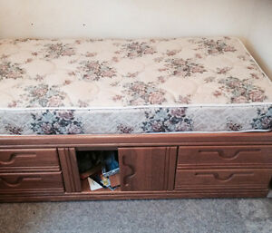 Kids single captain bed