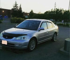 2003 Acura el LOW Kms!!!!!! Runs mint cheap on gas 1.7 vtec