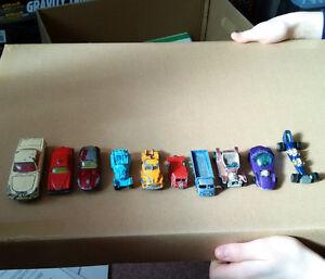 10 Vintage Toy Cars