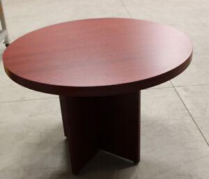 Table ronde pour bureau/maison