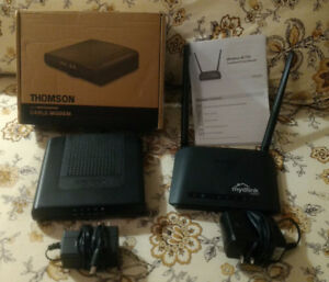 Thomson DMC475 modem and D-Link AC750 wireless router