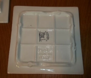 4 Italian handpainted porcelain tiles trivet hotplate decorative West Island Greater Montréal image 6