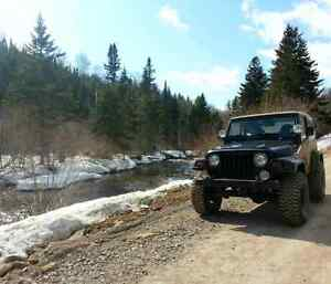 Parting out 97 Jeep TJ