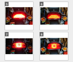 LED INSERT FOR HARLEY SOFTAIL VERY BRIGHT