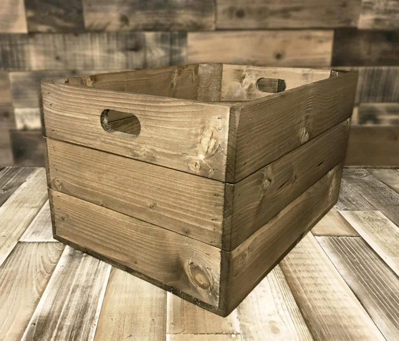 Handmade Solid Wooden Crates Retail Display Or Shelving In Norley Cheshire Gumtree