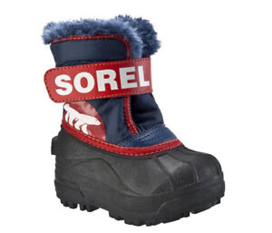 Never worn - Sorel Snow Commander Kids; Boots Toddler size 6