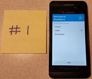 Blackberry Z10 complete package - top shape (3 phones for sale) Gatineau Ottawa / Gatineau Area image 2