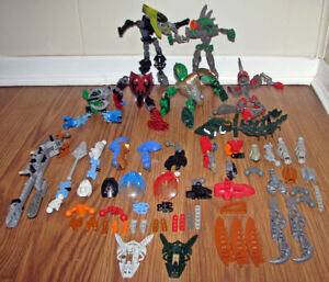 Lego Bionicles - Mixed Pieces.