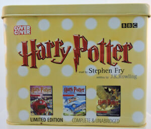 Limited Edition Harry Potter 3 AudioBook Cassette Tapes #3677