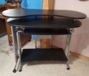 Small blackened ladies desk $195, Queen Anne oak desk $225+++