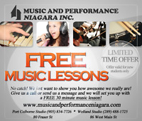 Free Music Lessons