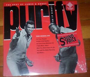James and Bobby Purify Greatest Hits vinyl record album SOUL
