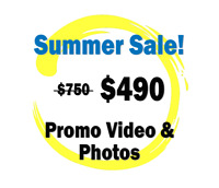 Small Business Summer PROMO video/photo PACKAGE