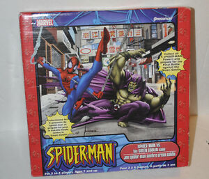 Spider Man Vs The Green Goblin Complete Board Game