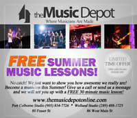 Free Summer Music Lessons