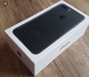 Looking for iPhone 7 Plus sealed in the box. 128 or higher