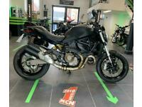 2016 Ducati Monster 821 Dark motorcycle