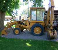 580 Case Backhoe 1979