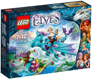 SAVE $4 Lego Elves Naida's Water Dragon Adventure NEW