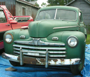 Original 1947 Ford 2 Door Sedan