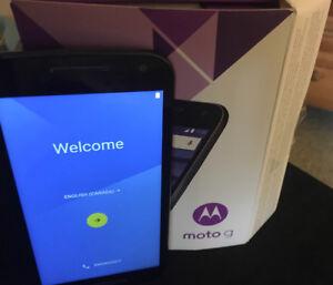 Motorola Moto 3rd Gen locked cell phone