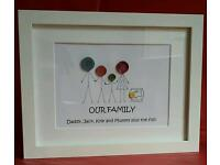 Button head pictures - family ❤ grandparents day ❤ new home ❤ welcome home ❤ birthday ❤ wedding