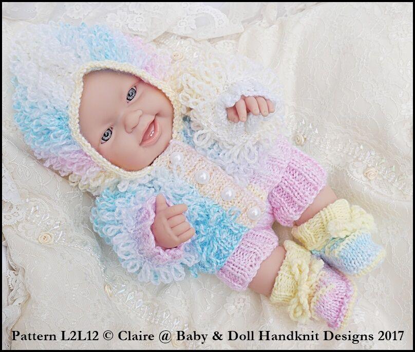 BABYDOLL HANDKNIT DESIGNS Knitting Pattern L2L12 14\