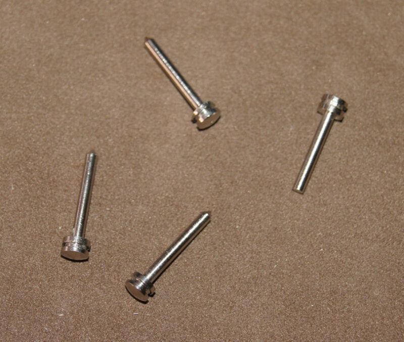 4 X Nails Accordion Bellows, Staples, Needles, Mounts Dia. 0 3/32in New