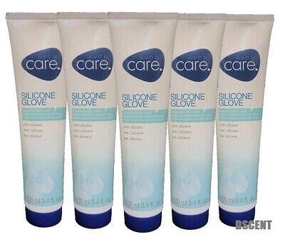 Avon Care Silicone Glove Protective Hand Cream Lot of 5, 3.4