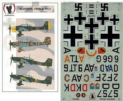 EAGLE STRIKE PRODUCTIONS 48001 DECALS 1/48 PHANTOMS PHOREVER Pt. 1
