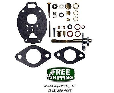 Carburetor Kit Massey Ferguson Mf65 165 175 180 3165 Tractor Tsx695 772 884 893