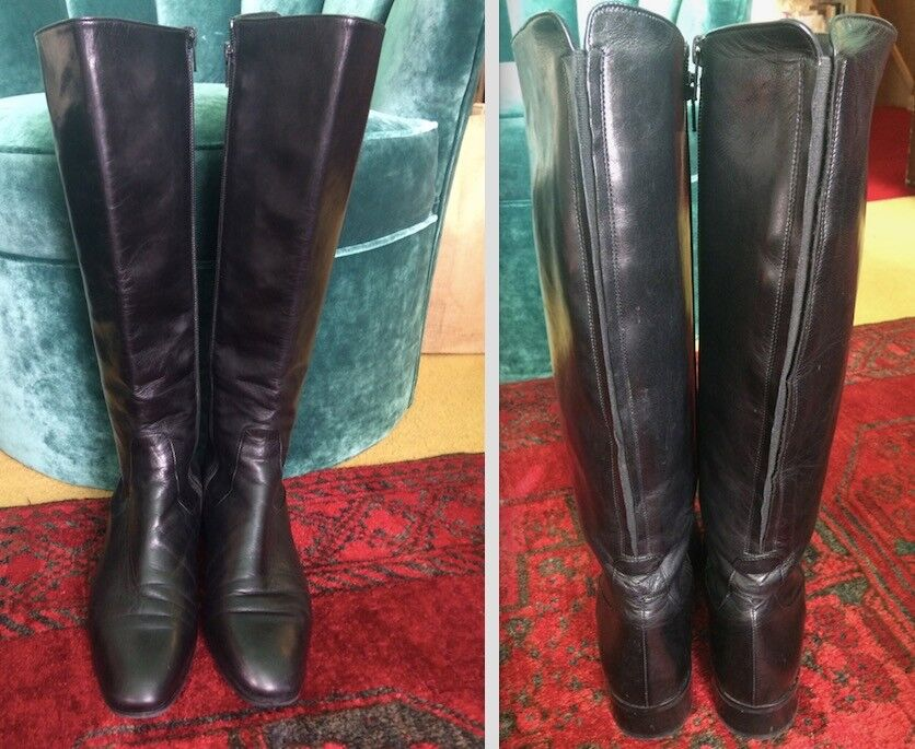 RUSSELL & BROMLEY SIZE LOW RIDE CLASSIC NAPPA LEATHER Stiefel SIZE BROMLEY 38   in 59be8d