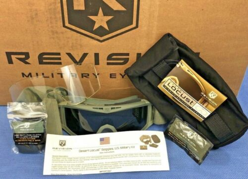 Revision Desert Locust US Military Goggle System Model #4-0309-9510