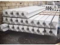 7ft Heavy Duty Concrete fencing posts