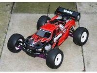 HPI Hellfire SS nitro RC car and spares