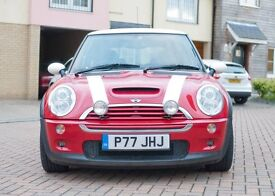 stunning pepper red mini cooper 2004