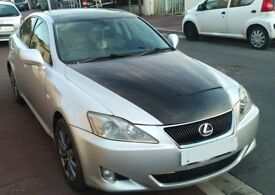 Lexus IS 220d 2006, full service history, silver,6 speed manual, cruise control, black leather